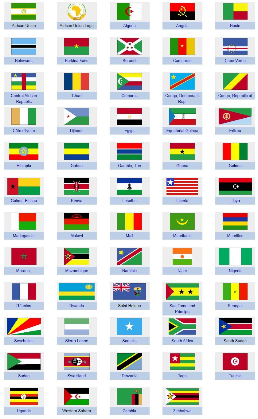 gallery/flags africa